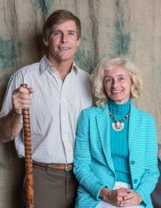 John with fiancé Frances Figart.